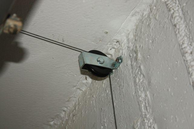 Mecanismo de persiana para subir y bajar el kayak en el garaje - Mecanismo reloj pared ikea ...
